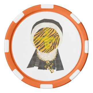 Heiße Querbrötchen-Nonnen-Poker-Chips Poker Chips
