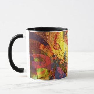 Heiße rostige Verwirrung Tasse