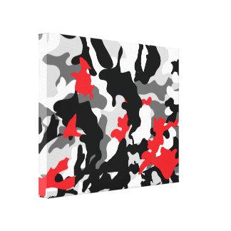 Heiße Safari Schwarzweiss Gespannte Galeriedrucke