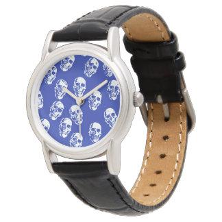 Heiße Schädel, weiß Uhr