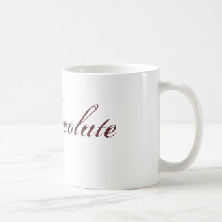 heiße Schokolade Kaffeetasse
