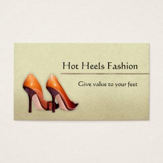 Heiße Schuh-Butike Visitenkarte
