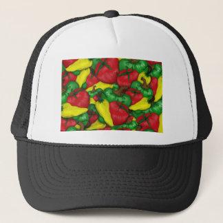 Heiße Tomate-Paprikaschoten Truckerkappe