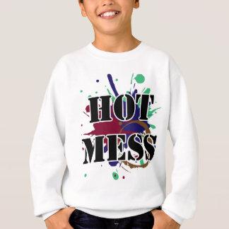 Heiße Verwirrung Sweatshirt