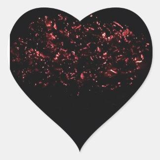 Heiße Zählung des Glut-Herz-Aufklebers 20 Herz-Aufkleber