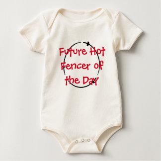 Heißer Fechter des Tages - zukünftiger heißer Baby Strampler
