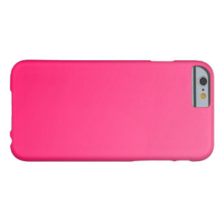Heißer heller rosa iPhone 6 Neonfall Barely There iPhone 6 Hülle