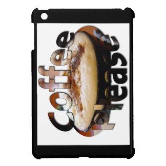 Heißer Kaffee bitte Ipad Miniabdeckung mit Logo iPad Mini Hülle