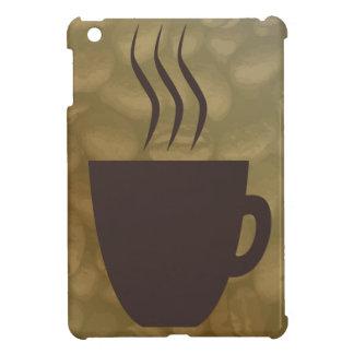Heißer Kaffee-Hintergrund iPad Mini Hülle