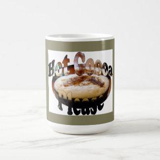 Heißer Kakao höhlen bitte mit Logo Kaffeetasse