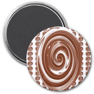 Heißer Kakao… Runder Magnet 7,6 Cm