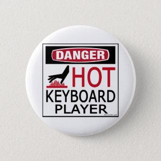 Heißer Keyboarder Runder Button 5,1 Cm