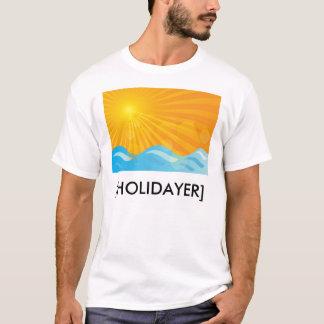 Heißer Sommer-Hintergrund T-Shirt