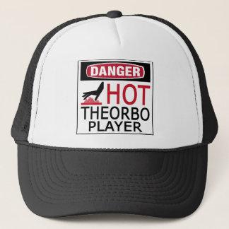 Heißer Theorbo Spieler Truckerkappe