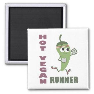 Heißer veganer Läufer Magnete