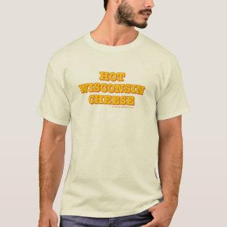 Heißer Wisconsin-Käse-Männer natürlich T-Shirt