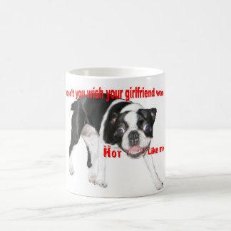 Heißes Boston Terrier Kaffeetasse