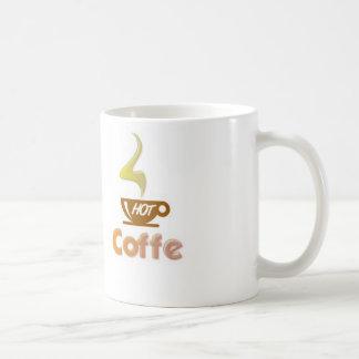Heißes coffe tasse