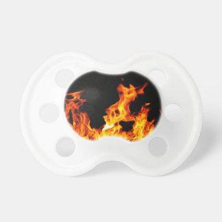 heißes Feuer Schnuller