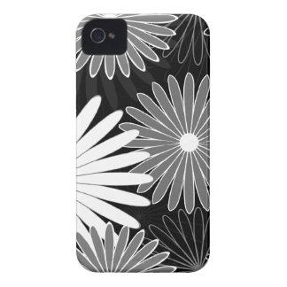 heißes Mit Blumengrau iPhone 4 Hülle
