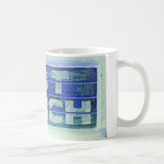 Heißes Mittagessen Kaffeetasse