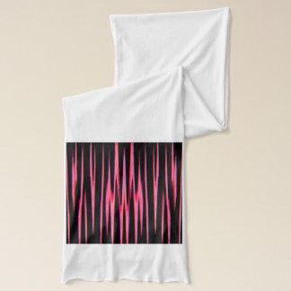 HEISSES ROSA (ein abstrakter Kunstentwurf) ~ Schal