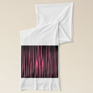 HEISSES ROSA-FLIESE (ein abstrakter Kunstentwurf) Schal