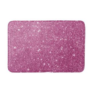 Heißes Rosa-Glitter-Glitzern Badematte