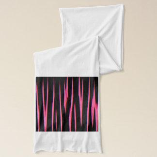 HEISSES ROSA im ersten (ein abstrakter Schal