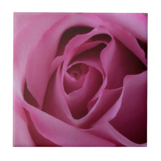 Heißes Rosa-Rose Keramikfliese