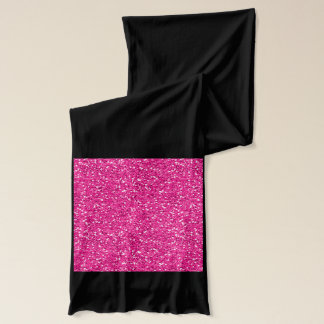Heißes Rosa-Schimmer-Glitzer Schal
