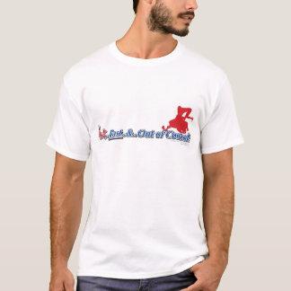 Heißes schnelles und aus Kontrolle heraus T-Shirt