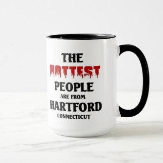 Heißeste Leute sind von Hartford Connecticut Tasse