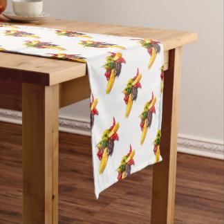 Heißeste Paprikas Kurzer Tischläufer