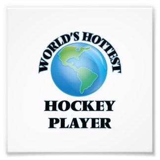 Heißester das Hockey-Spieler der Welt Kunst Fotos