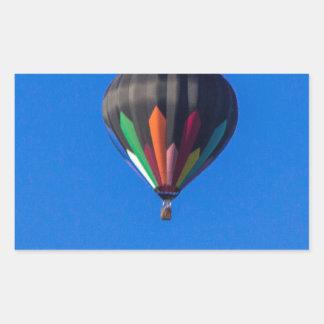 Heißluft-Ballon 1 Rechteckiger Aufkleber