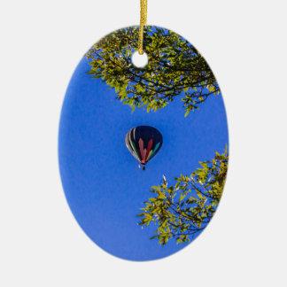 Heißluft-Ballon 2 Keramik Ornament