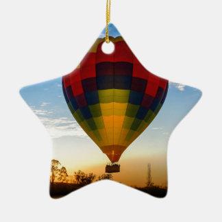 Heißluft-Ballon Keramik Ornament