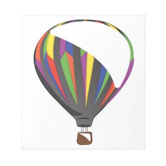 Heißluft-Ballon Notizblock