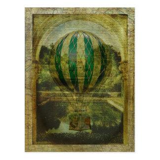 Heißluft-Ballon-Reise Postkarten
