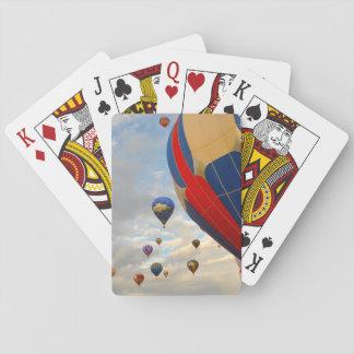 Heißluft-Ballon-Rennen Nevadas Spielkarten