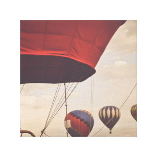 Heißluft-Ballon-Rennen Reno Leinwanddruck