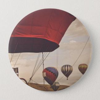Heißluft-Ballon-Rennen Reno Runder Button 10,2 Cm