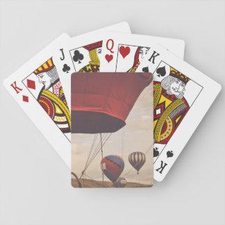 Heißluft-Ballon-Rennen Reno Spielkarten