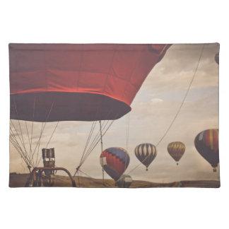 Heißluft-Ballon-Rennen Reno Tischset