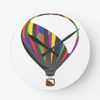 Heißluft-Ballon Runde Wanduhr