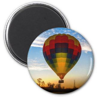 Heißluft-Ballon Runder Magnet 5,1 Cm