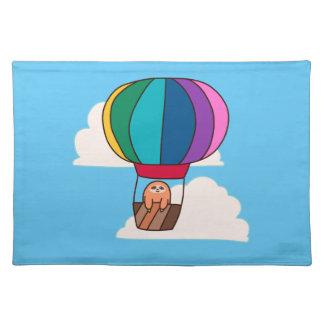 Heißluft-Ballon-Trägheit Stofftischset