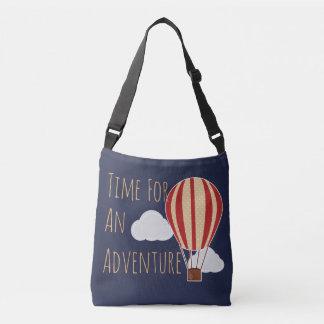 Heißluft-Ballon-Zeit für Abenteuer Tragetaschen Mit Langen Trägern