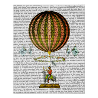 Heißluft-Ballon Zephire Poster